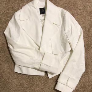 White Jacket from The Limited
